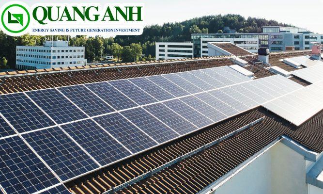 điện mặt trời gia đình