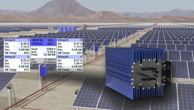 Alencon's new utility-scale optimizer, central inverter solution