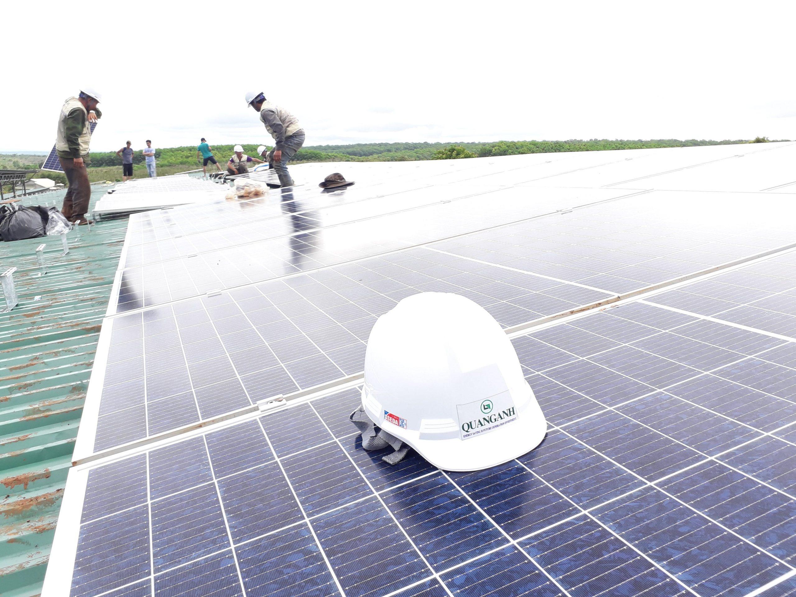 điện mặt trời hòa lưới 7KW