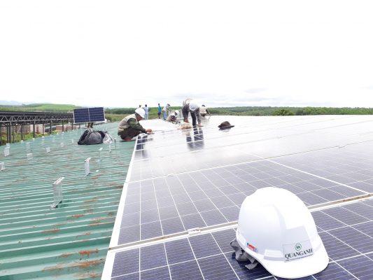 điện mặt trời ESCO