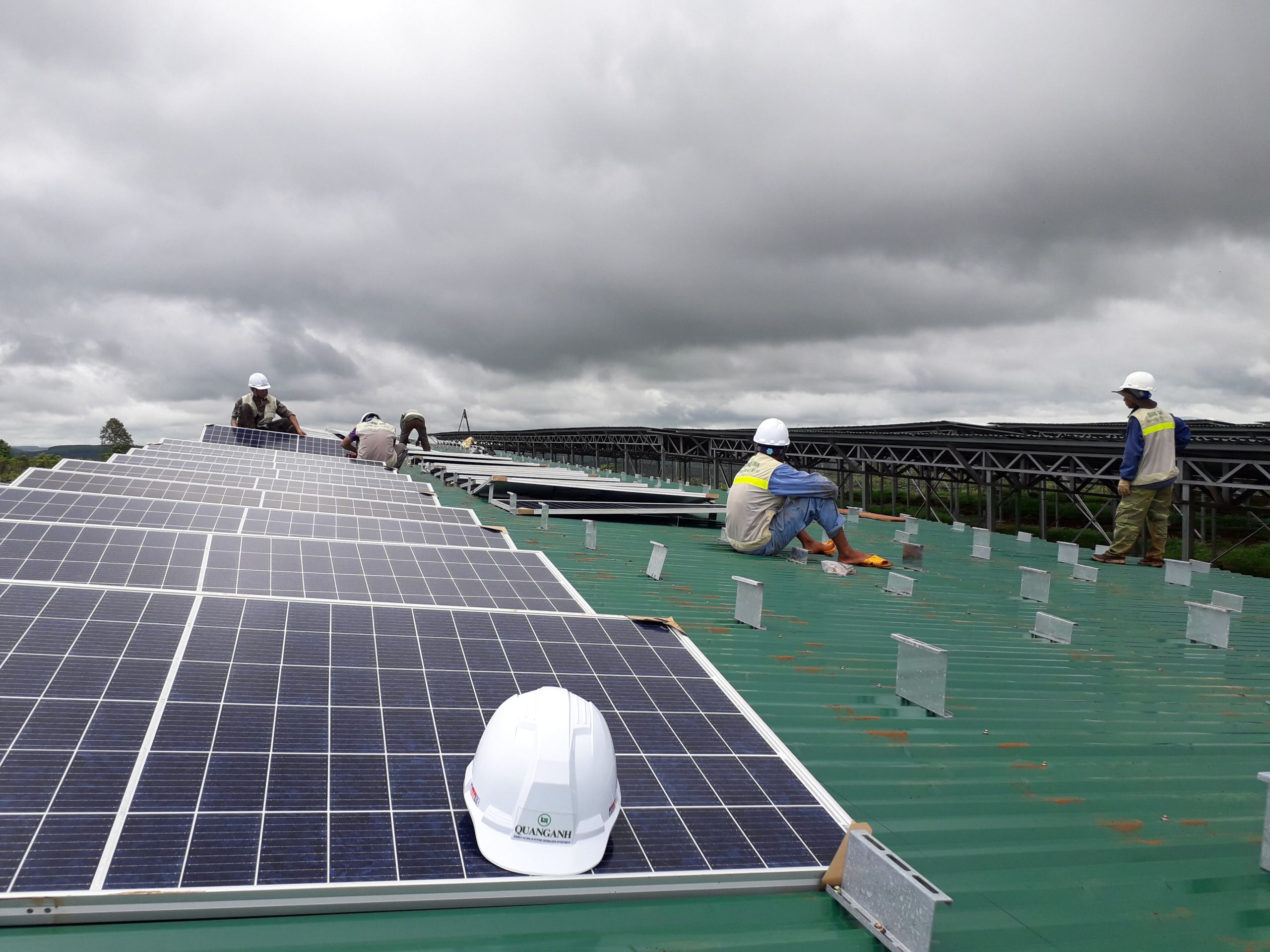 điện mặt trời hòa lưới 4kw