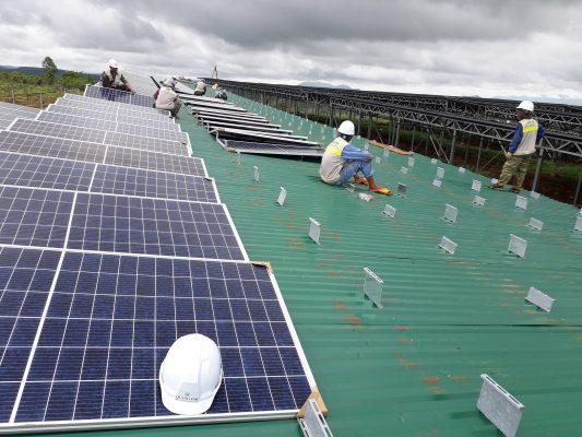 điện mặt trời doanh nghiệp